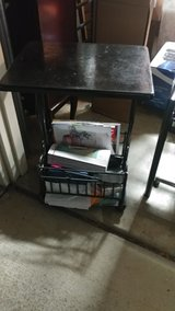 magazine holder end table in Vacaville, California