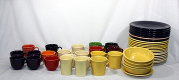 Huge Lot of 51 ASSORTED PIECES & COLORS FIESTAWARE FIESTA WARE SOME RETIRED in Spring, Texas