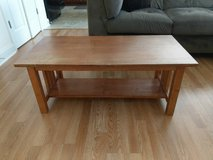 Dual Level Wooden Coffee Table in Fort Bragg, North Carolina