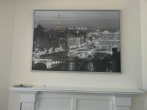 Paris Picture, Framed in Fort Bragg, North Carolina