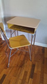 School desk and chair in Lawton, Oklahoma