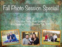 FALL SPECIAL GOING ON NOW!! ~One Hour Family Photo Sessions!~ in Camp Lejeune, North Carolina