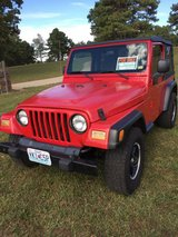2003  Jeep Wrangler -- Last Reduction in Fort Leonard Wood, Missouri