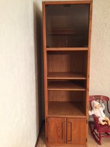 Three Piece Solid Wood Wall Unit / Entertainment Center in Naperville, Illinois