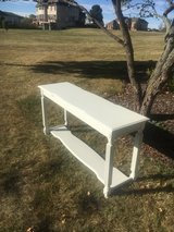 sofa table/ entryway table. finished in white . Really nice in Morris, Illinois