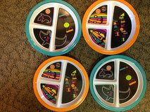 Set of 4 NEW Kids Halloween plates in Okinawa, Japan