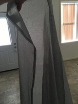 Sheer Grey Curtains in Fort Drum, New York