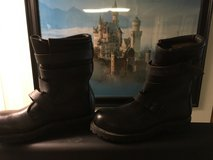 Old Style Military Boots Steel Toe Size 9R in Elizabethtown, Kentucky