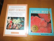 Soft Corals Creating a Reef Environment hardcover and Coral Reefs ( 2 books) in Watertown, New York