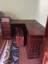 large solid wood office desk in Perry, Georgia