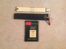 Vintage Slide Rule in Alamogordo, New Mexico