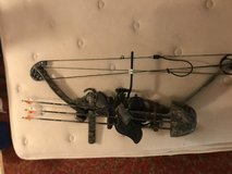 PSE BOW set up and ready to go in Fort Leonard Wood, Missouri