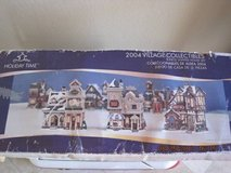 Holiday Time 2004 Village Collectibles 3 Piece Set in Fairfield, California