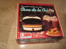 (NEW) Munsey-CONE-DE-LA-CREME-Waffle-Ice-Creme-Cone-Maker-New-Sealed Munse in Fairfield, California