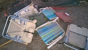 Assorted Camp and lawn chairs in Alamogordo, New Mexico