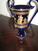 Grecian Vase With 24 K Gold Painted (Made In Greece ) in Fairfield, California