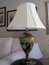 (Bradburn) Hand Painted Lamp With Lion Head (Original Price $599) in Fairfield, California