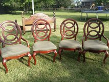 4 dining room chairs in Clarksville, Tennessee