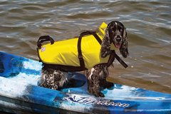 PetSafe Fido Float Water Safety Vest for Dogs, Medium, Yellow in Batavia, Illinois