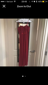 Strapless Red Gown Size 8 in Pensacola, Florida