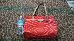 Coral Coach purse in Fort Bliss, Texas