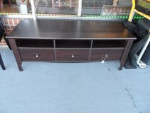 "Black TV Stand 5' x 22"" x 22""H in Cherry Point, North Carolina"