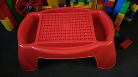 Mega Bloks Lap Tray with 230+ pcs. in Yorkville, Illinois