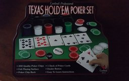 Texas Hold'Em Poker Set in Conroe, Texas