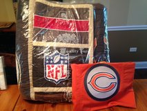 Pottery Barn NFL F/Q Quilt and Sham+Bears Sham NFC League in Aurora, Illinois