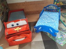 Toy Story bed--Cars bed-red. in Ramstein, Germany