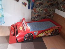 Cars / Toys toddler bed wateresit. matress in Ramstein, Germany