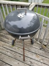 Weber style kettle grill in Kansas City, Missouri