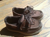 Little boys brown Sperry's sz 10 in Camp Lejeune, North Carolina