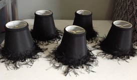 5 Black Candelabra Lamp Shade in Fort Campbell, Kentucky