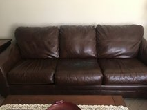 faux leather couch in Sandwich, Illinois