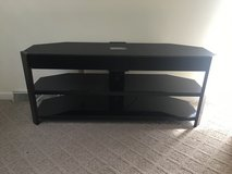 tv stand with working speaking bar in Sandwich, Illinois