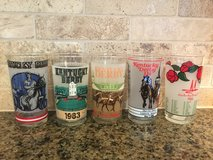 Kentucky Derby glasses in Wheaton, Illinois