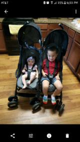 chicco double stroller in Kingwood, Texas