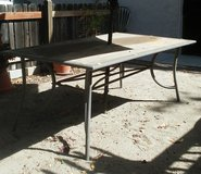 Patio table in Vacaville, California