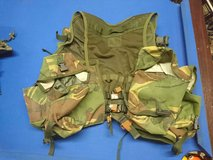 British. tactical vest in Lakenheath, UK