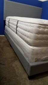 QUEEN SIZE NAIL HEAD BED - NEW - IN THE BOX in Cary, North Carolina