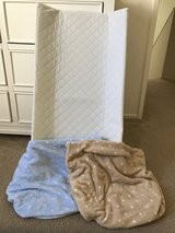 Changing table pad and cover in Camp Pendleton, California