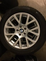 """OEM BMW 18"""" winter tires on BMW rims - 245/50R18 (Set of 4 tires) in Westmont, Illinois"""