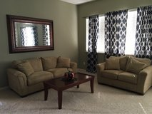 2 Couches, Mirror & Coffee Table in Fairfield, California