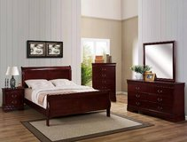 Queen Bedroom Set - 5pc - NEW in Cary, North Carolina