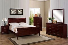 King Bedroom Set - 5pc - NEW in Cary, North Carolina