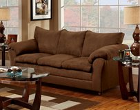 Couch - Brown - NEW in Cary, North Carolina
