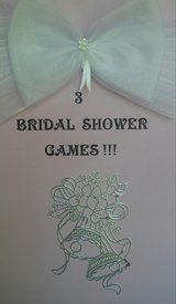 3 BRIDAL SHOWER GAMES AND PINS (in Naperville ) in Aurora, Illinois