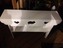 White Woodhouse Sofa table in Schaumburg, Illinois