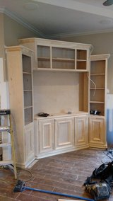 Custom cabinets built on site all styles in The Woodlands, Texas